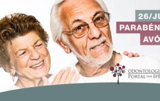 Dia dos avós | Cuidados com os dentes dos idosos - Odontologia Portal dos Ipês