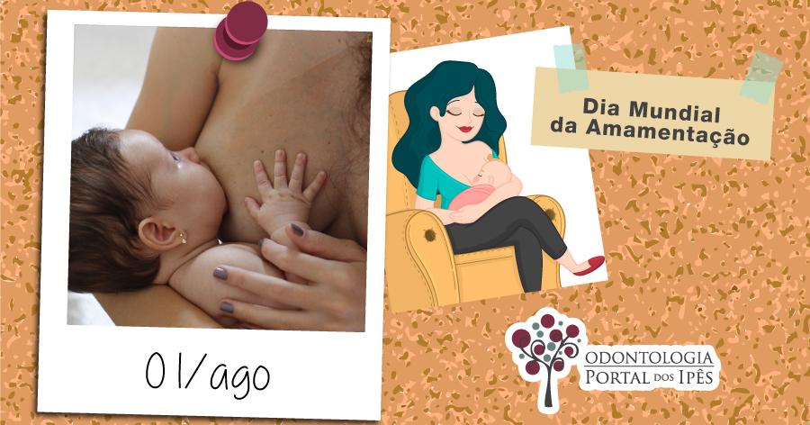 Dia Mundial da Amamentação | Como esse hábito ajuda na saúde bucal do bebê? - Odontologia Portal dos Ipês