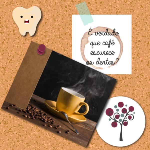 É verdade que café escurece os dentes? - Odontologia Portal dos Ipês