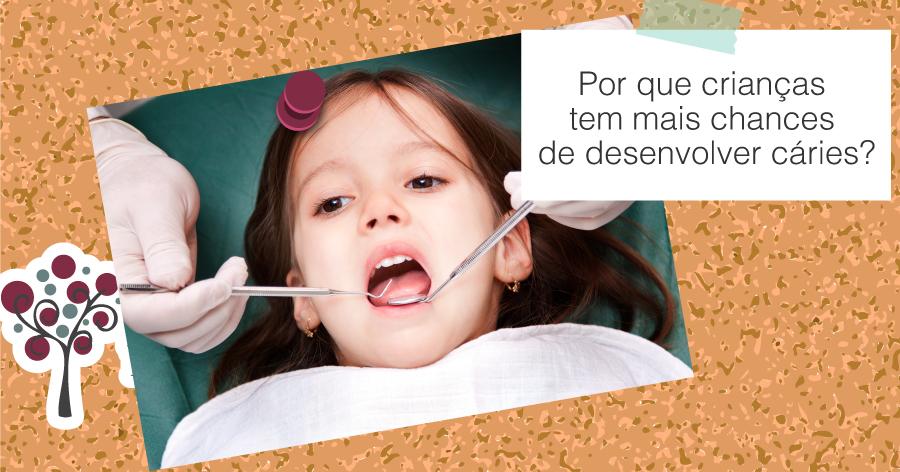 Dia das Crianças   Por que crianças tem mais chances de desenvolver cáries? - Odontologia Portal dos Ipês